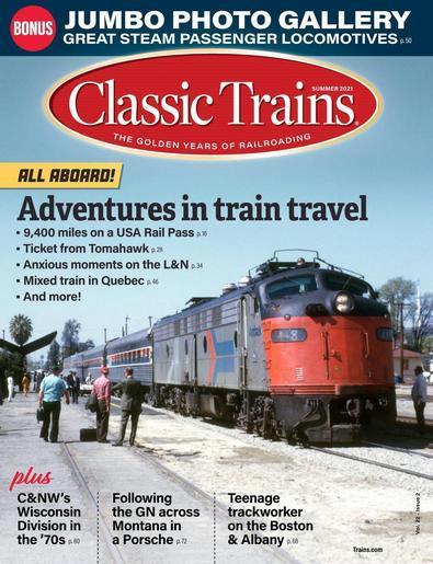 Classic Trains digital cover