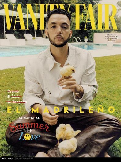 Vanity Fair España digital cover