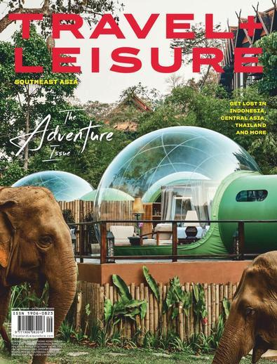 Travel + Leisure Southeast Asia digital cover