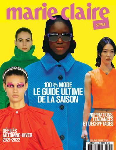 Marie Claire Fashion Shows digital cover