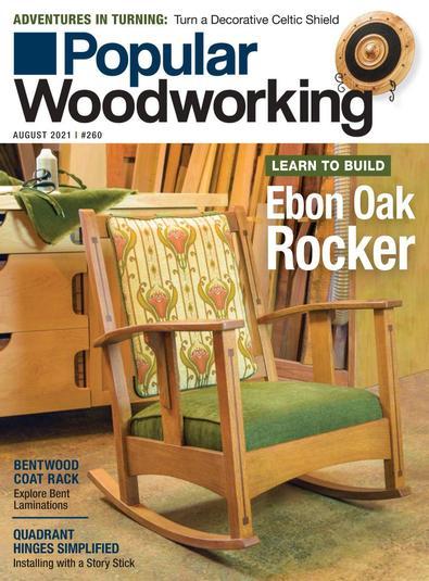 Popular Woodworking digital cover