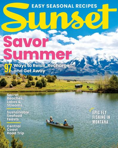 Sunset digital cover