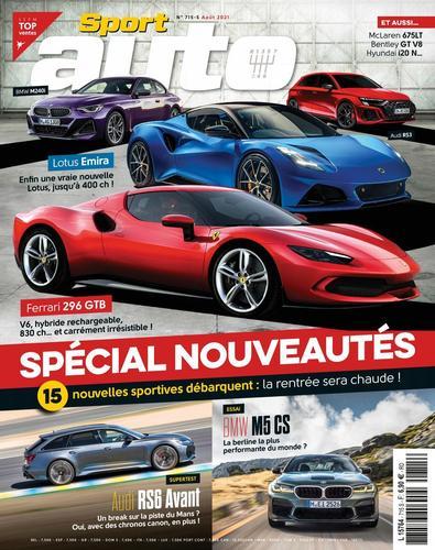 Sport Auto France digital cover