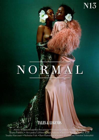 NORMAL Magazine original edition digital cover