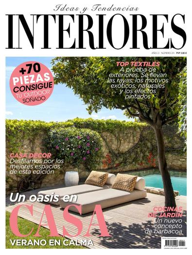 Interiores digital cover