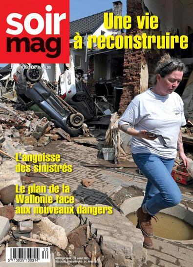 Le Soir magazine digital cover