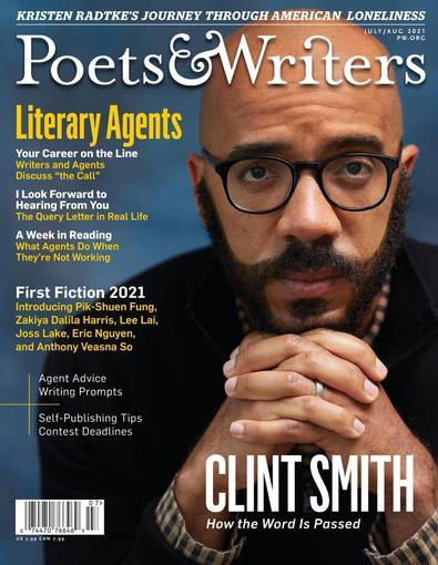 Poets & Writers Magazine digital cover