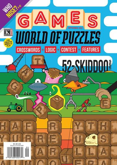 Games World of Puzzles digital cover