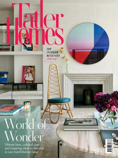 Singapore Tatler Homes digital cover