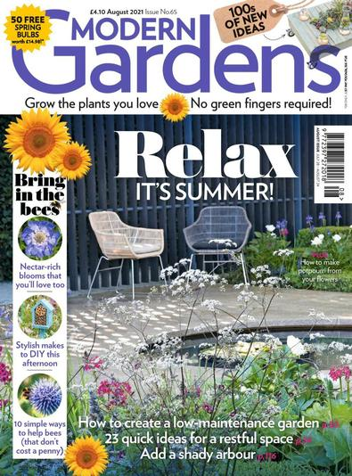 Modern Gardens digital cover