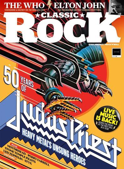 Classic Rock digital cover
