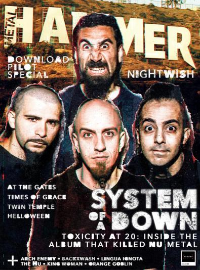 Metal Hammer digital cover