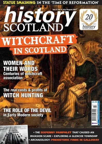 History Scotland digital cover
