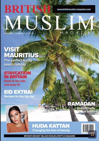 British Muslim magazine cover