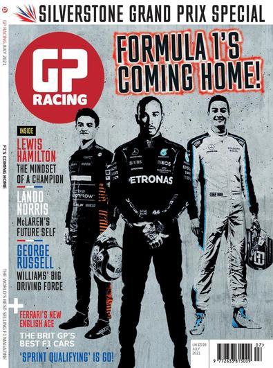 GP Racing magazine cover