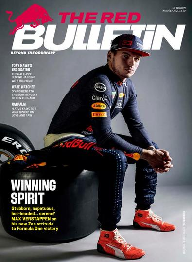 The Red Bulletin magazine cover