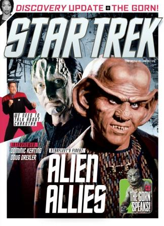 The Official Star Trek Magazine cover