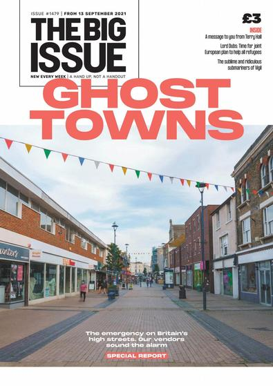 The Big Issue magazine cover