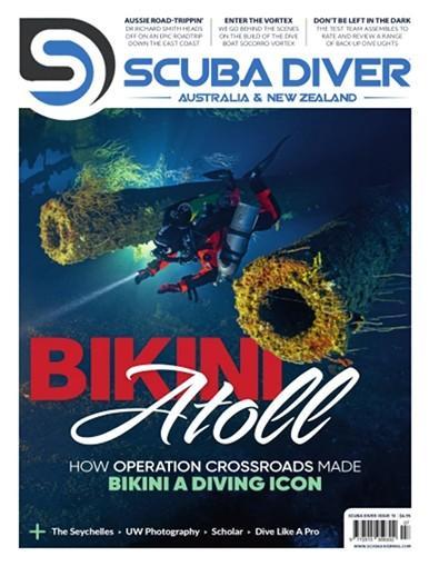 Scuba Diver Asia Pacific magazine cover
