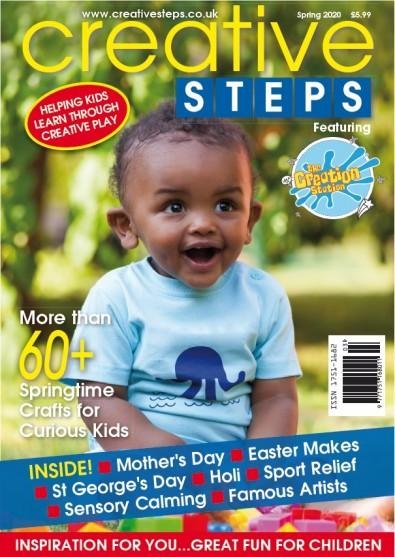 Creative Steps magazine cover