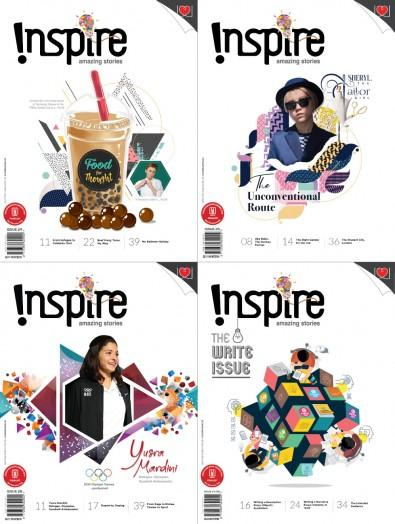 Inspire 2021 Edition - (5 Issues) magazine cover