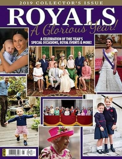 The Royals Annual: A Glorious Year 2019 cover