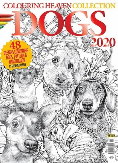 Colouring Heaven Collection: DOGS 2020 cover