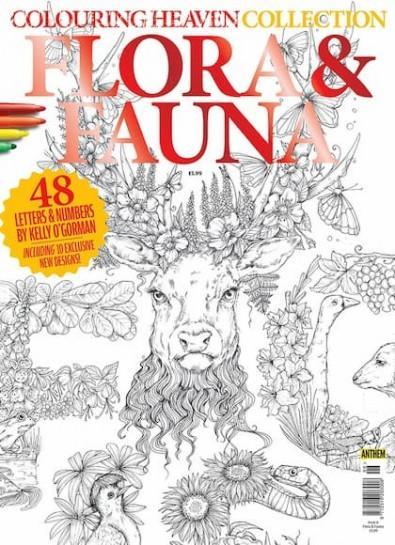 Colouring Heaven Collection: FLORA & FAUNA cover