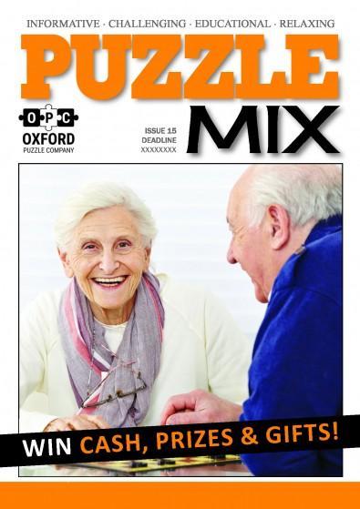 Puzzle Mix magazine cover