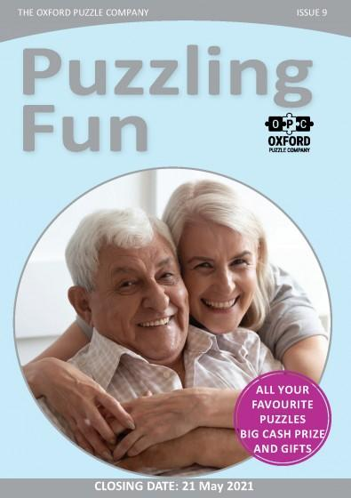 Puzzling Fun magazine cover