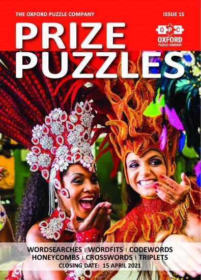 Prize Puzzles magazine cover