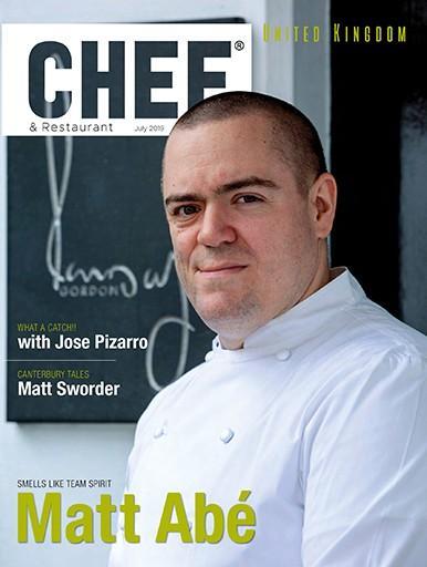 Chef Magazine cover