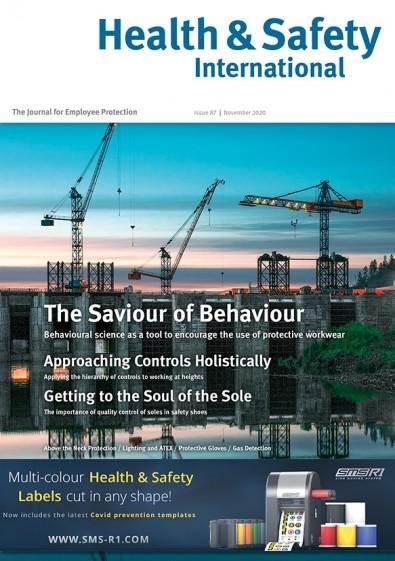 Health & Safety International magazine cover