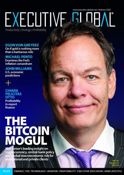 Executive Global magazine cover