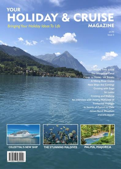 Your Holiday and Cruise Magazine cover