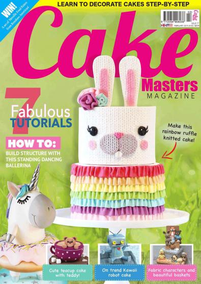 Cake Masters Magazine cover