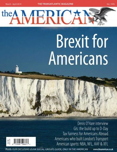 The American magazine cover