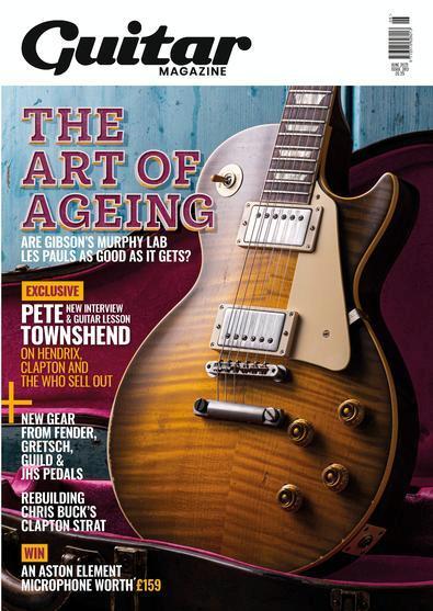 Guitar Magazine cover