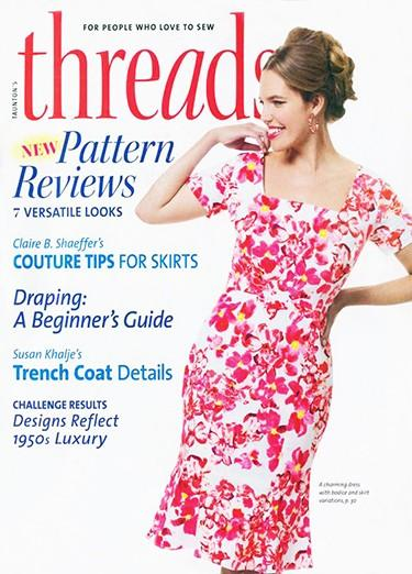 Threads magazine cover