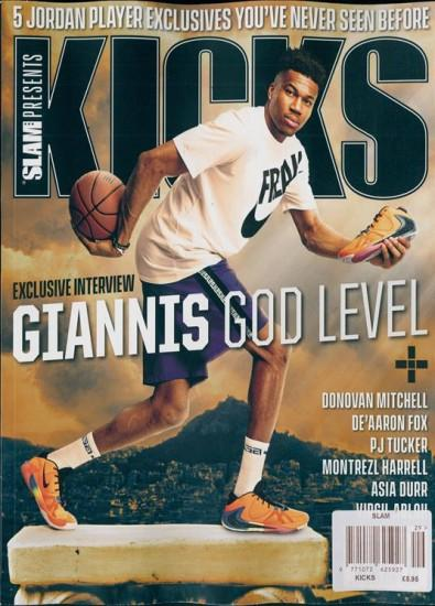 Slam magazine cover