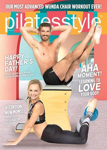 Pilates Style magazine cover