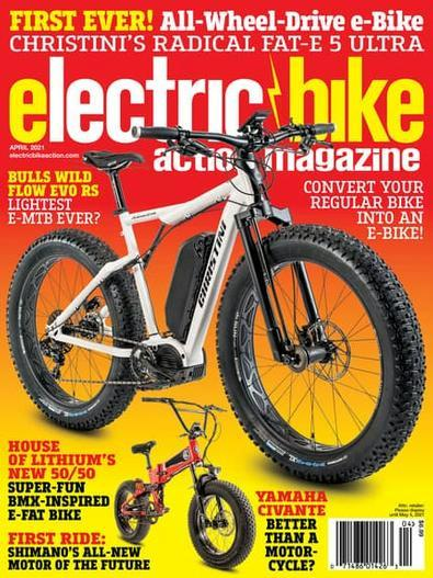 Electric Bike Action magazine cover