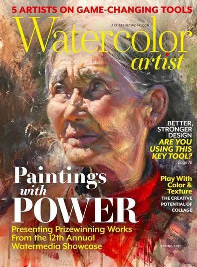 Watercolor Artist magazine cover