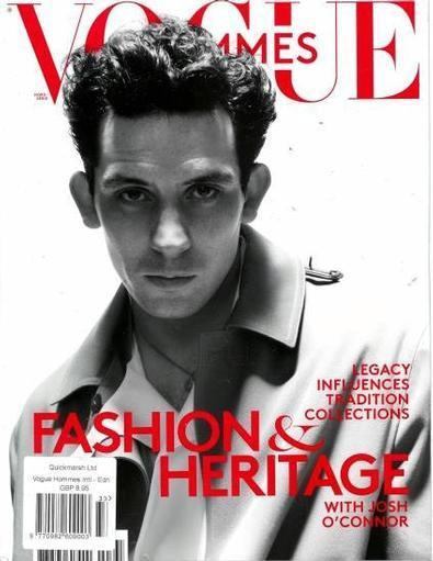 Vogue Hommes International Mode. magazine cover