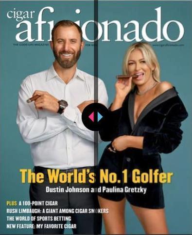 Cigar Aficionado. magazine cover
