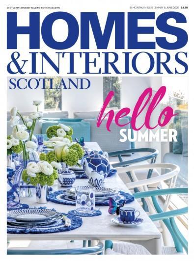 Homes & Interiors Scotland magazine cover