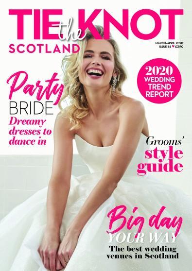 Tie the Knot Scotland magazine cover