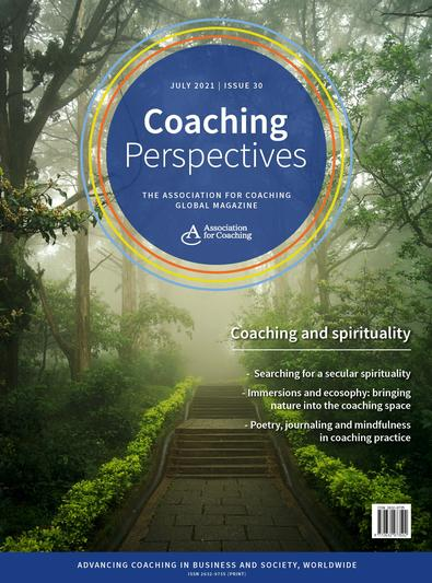 Coaching Perspectives magazine cover