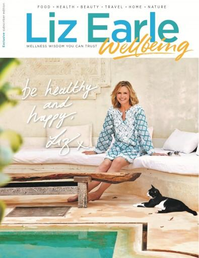 Liz Earle Wellbeing magazine cover