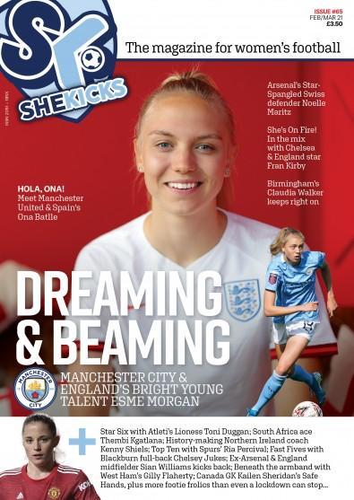 She Kicks Magazine cover